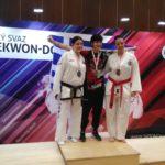 Monika Burdová vybojovala stříbrnou medaili na mezinárodní soutěži